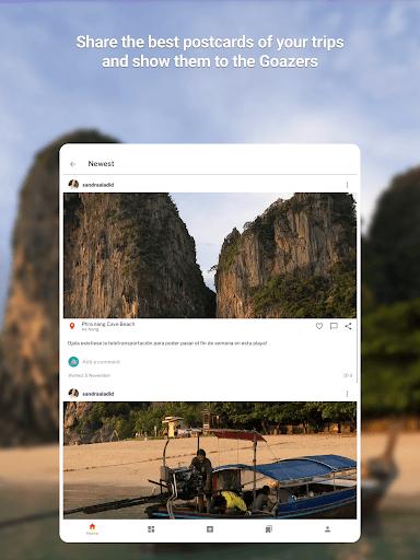 GOAZ: Travel Stories, Trips & Tips. Be an Explorer 6.27.0 Screenshots 15