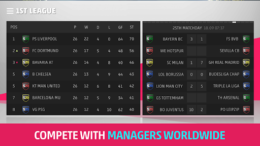 SEASON Pro Football Manager - A u26bdufe0f Management Game screenshots 5