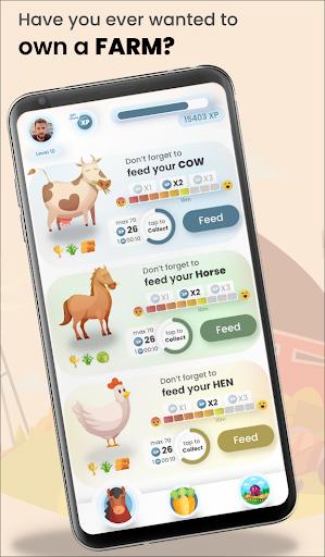 Farm Simulator! Feed your animals & collect crops! apkmartins screenshots 1