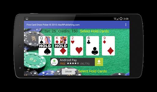 Five Card Draw Poker 1.20 screenshots 5