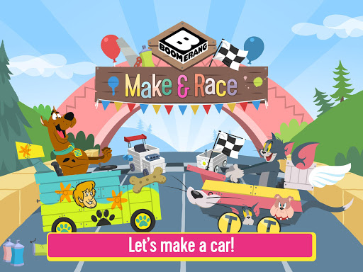Boomerang Make and Race - Scooby-Doo Racing Game android2mod screenshots 17