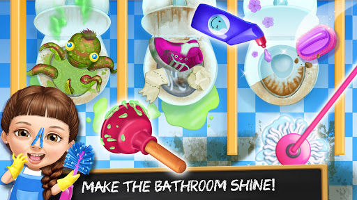 Sweet Baby Girl Cleanup 6 - School Cleaning Game  screenshots 4