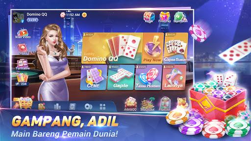 MVP Domino QiuQiuu2014KiuKiu 99 Gaple Slot game online  screenshots 1