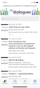 AAD Dialogues in Dermatology Apk 4