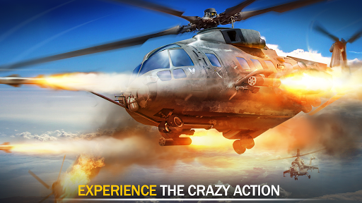 Gunship Force: Free Helicopter Games Attack 3D  screenshots 8