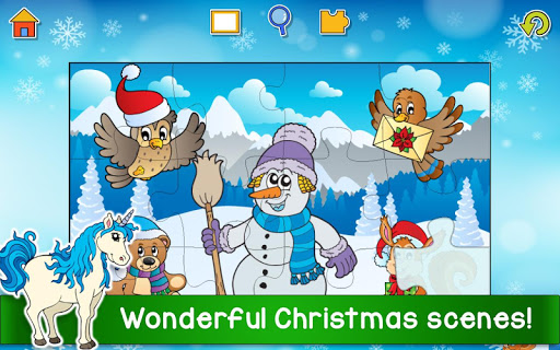Christmas Puzzle Games - Kids Jigsaw Puzzles ud83cudf85  screenshots 4