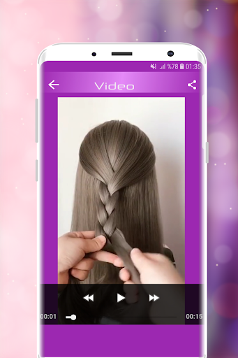 Hairstyles Step by Step Videos (Offline) 1.6.1 Screenshots 10