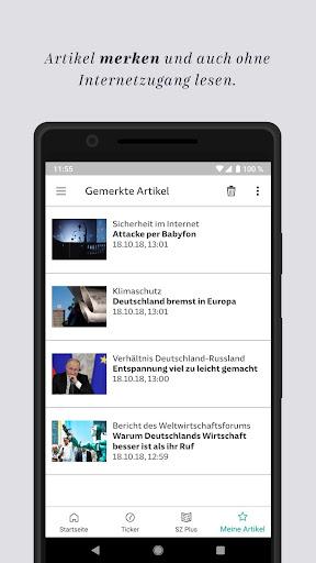SZ.de - Nachrichten - Süddeutsche Zeitung  screenshots 8