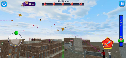 Indian Kite Flying 3D  screenshots 1