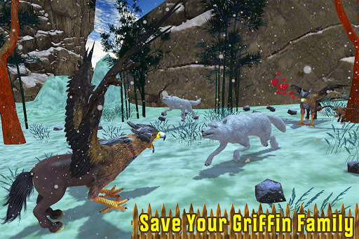 Wild Griffin Family Flying Eagle Simulator  screenshots 6