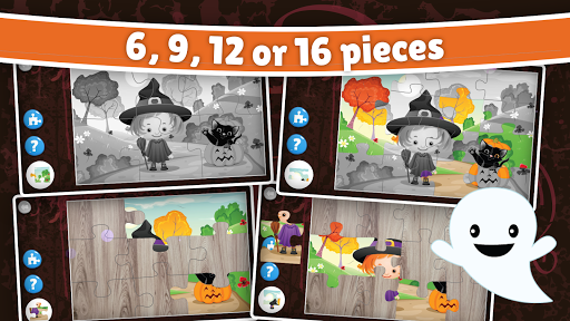 Halloween Puzzle for kids & toddlers ud83cudf83  screenshots 2