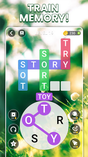 Word Rainbow Crossword 1.2.4 screenshots 3