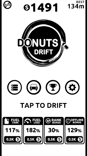 Donuts Drift: Addicting Endless Fast Drifting Game apkdebit screenshots 4