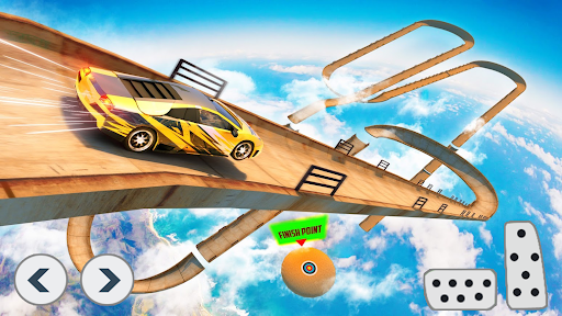 Superhero Car Stunts - Racing Car Games screenshots 12