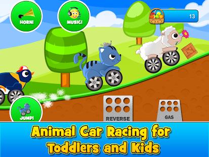 Animal Cars Kids Racing Game 1.6.5 Screenshots 6