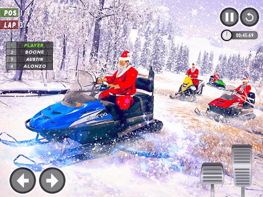 Santa Atv Snow Bike Racing 2020 : Quad Bike Race 1.1 Screenshots 8