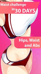Small Waist Workout – hips and glute 1