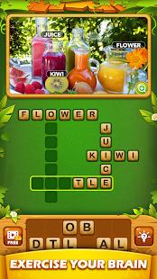 Word Cross Pics - Free Offline Word Games Puzzle