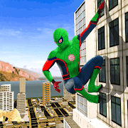 Miami Spiderman Rope Hero: Open World