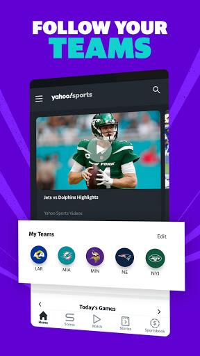 Yahoo Sports: Get live sports news & scores  screenshots 2