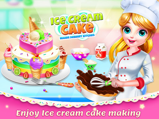 Ice Cream Cake Maker: Dessert Chef  Screenshots 11