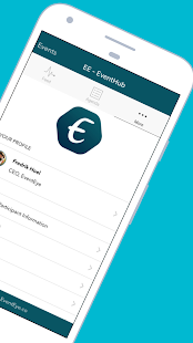 EE - EventHub screenshots 2