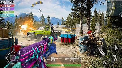 fps shooting games : commando offline gun games android2mod screenshots 18
