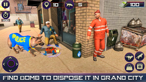 us police dog duty simulator screenshot 2