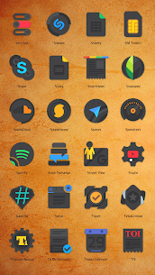 Crispy Dark Icon Pack v2.9.9.9.5 [Patched] 3