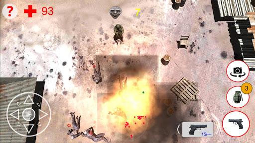 shooting zombies free game screenshot 2