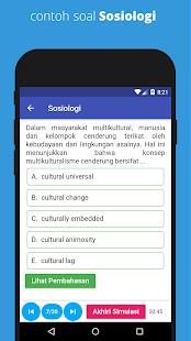 UTBK SBMPTN Soshum 2021 - Soal & Pembahasan 1.4 APK + Мод (Unlimited money) за Android