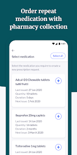 Patient Access Screenshot