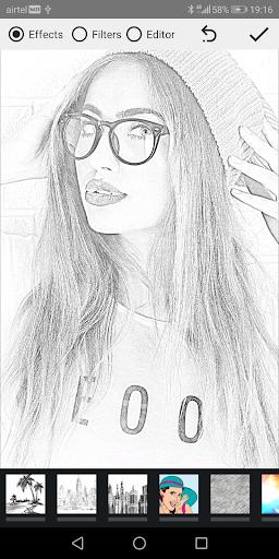 Pencil Photo Sketch-Sketching Drawing Photo Editor  Screenshots 9