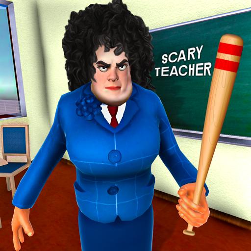 Korkunç Evil Öğretmen Oyunları: Komşu Evi Kaçış 3D