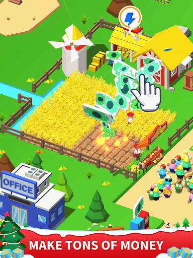 Idle Leisure Farm - Cash Clicker apktram screenshots 7