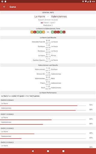 Football Tips & Stats - A Football Report 2.6 Screenshots 8