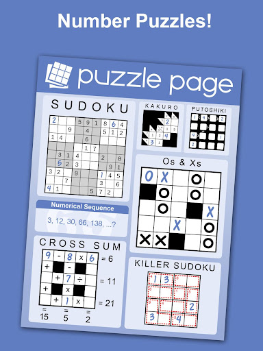Puzzle Page - Crossword, Sudoku, Picross and more 3.62 screenshots 2