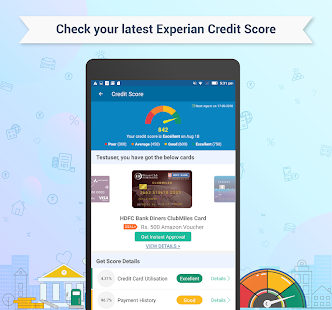 Free Credit Score, Quick Loans & Credit Card Screenshot