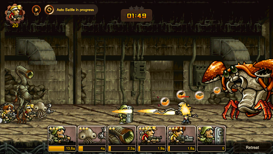 Metal Slug Infinity: Idle Game Screenshot