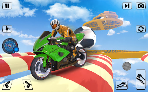Bike Impossible Tracks Race: 3D Motorcycle Stunts  Screenshots 8