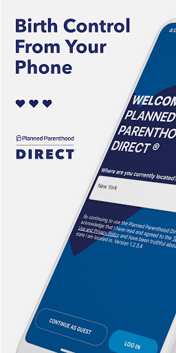 Planned Parenthood Direct℠ screenshot for Android