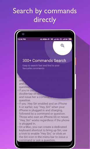 Commands Guide For Siri Screenshot 2