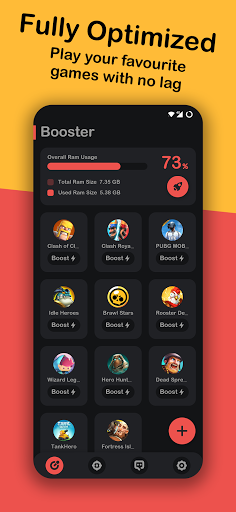 Game Booster ⚡Play Games Faster & Smoother free  screenshots 2
