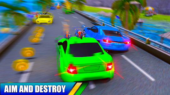 Car Shooting Battle Crash 2019 Hack Cheats (iOS & Android) 3