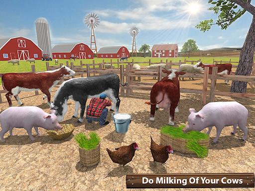 Organic Tractor Farming SIM: Mega Harvesting 3.0.3 screenshots 11
