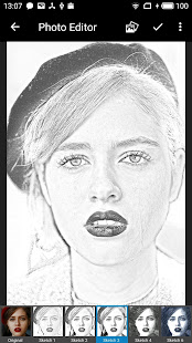 Photo Editor with Pencil Sketch and Other Effects