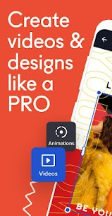 Crello Apk  – Video, Artwork & Graphic Design Maker 1