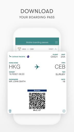Cathay Pacific screenshots 7