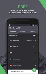 ProtonVPN (Outdated) - See new app link below Screenshot