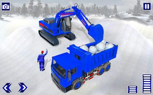 Grand Snow Excavator Simulator: Road Construction 5